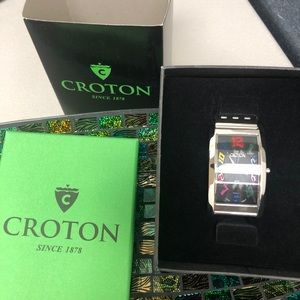 Brand new rainbow croton watch